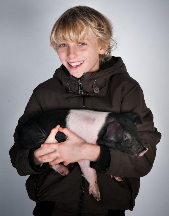 Daniel & Pig