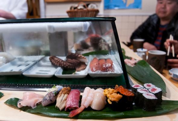 Fish Market Breakfast
