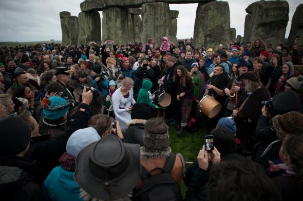 Stonehenge, Winter Solstice 2016