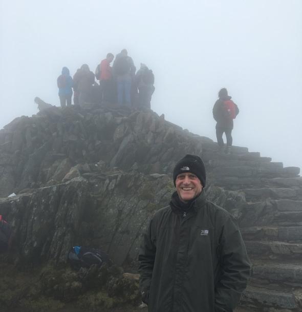 Top of Snowdon 2016