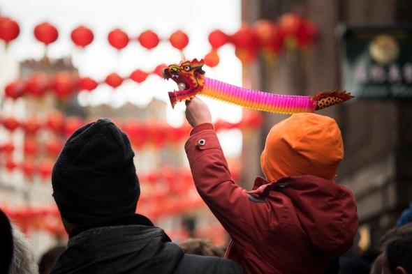 Chinese New Year, China town, London, 2017
