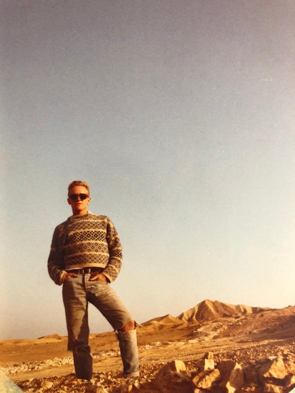 Israel trip 1986_01
