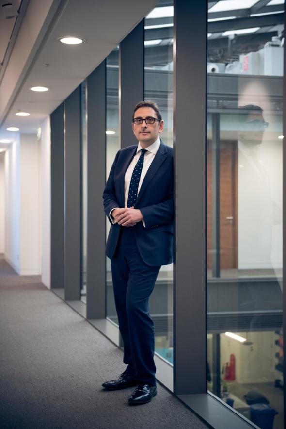 Portrait of Nicholas Conway, Deloitte