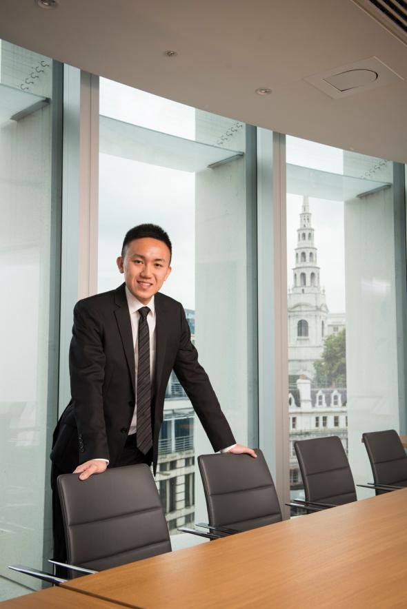 Portrait of Merrick Ming Tao Ho