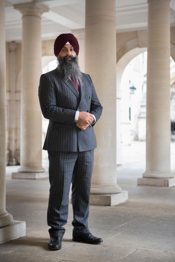 Portrait of Mukhtiar Singh, Barrister