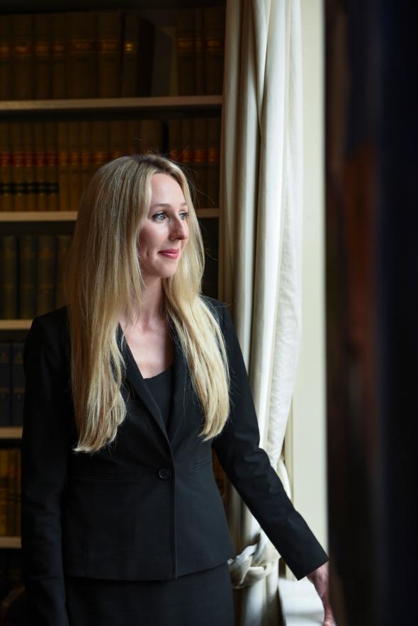 Portrait of Sarah Tilly, Barrister